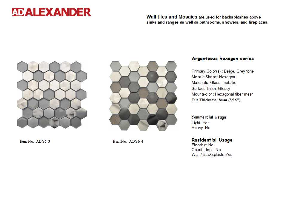 hexagon series
